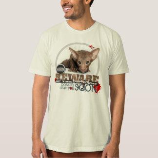 Beware of the Ninja Cat T-Shirt