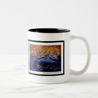 Beware of the seventh wave coffee mugs