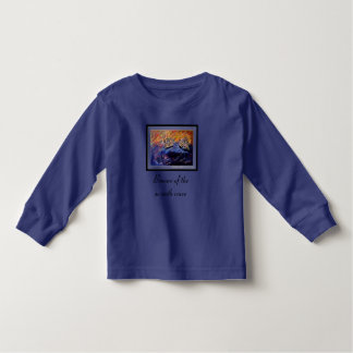 Beware of the seventh wave toddler t-shirt