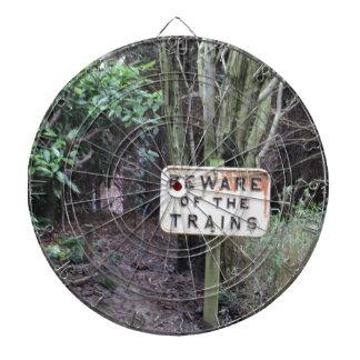 Beware of the Trains! - Range Dartboard