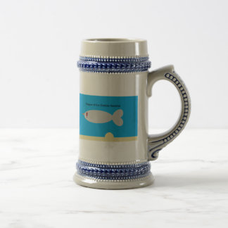 Beware of the Zombie Narwhal Beer Stein