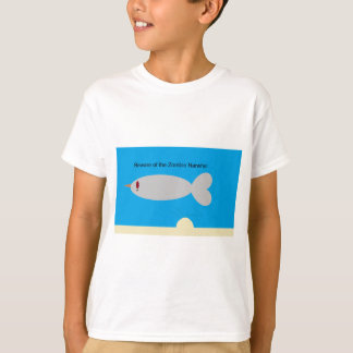 Beware of the Zombie Narwhal T-Shirt