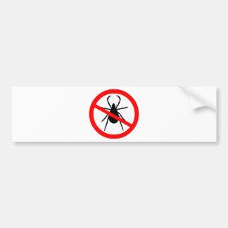 Beware of Ticks Bumper Sticker