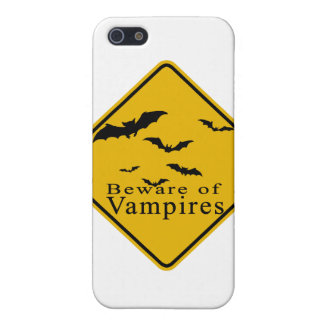 Beware of  Vampires Cases For iPhone 5