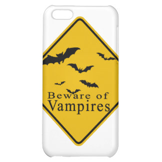 Beware of  Vampires iPhone 5C Cases