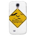 Beware of  Vampires Samsung Galaxy S4 Cases