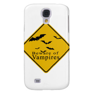 Beware of  Vampires Samsung Galaxy S4 Cases