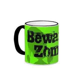 Beware of Zombie Ringer Mug