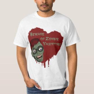 Beware of Zombie Valentines Shirt