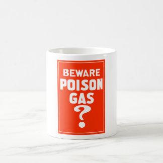 Beware Poison Gas? Classic White Coffee Mug