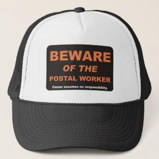 Beware / Postal Worker Trucker Hat