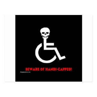Beware Postcard