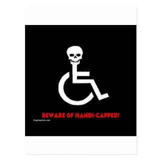 Beware Postcards