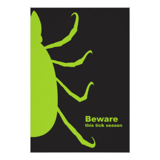 Beware poster