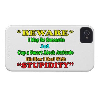 Beware Sarcastic iPhone 4 Cases