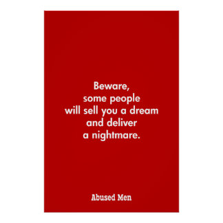 Beware, Some People Will Sell You A Dream … Poster