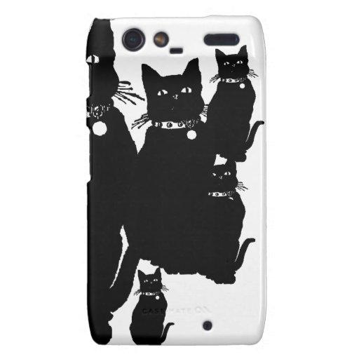 Beware the Black Cat Motorola Droid RAZR Cases