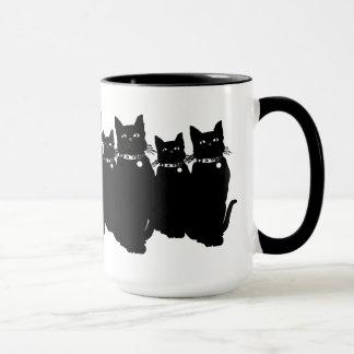 Beware the Black Cat Mug