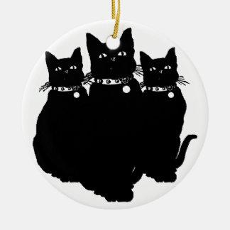 Beware the Black Cat Ornament