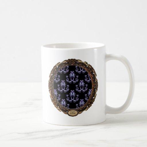 Beware the Brocade Coffee Mugs
