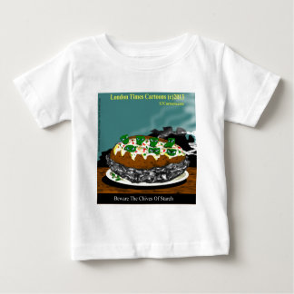 Beware The Chives Of Starch Funny Potato T-shirt