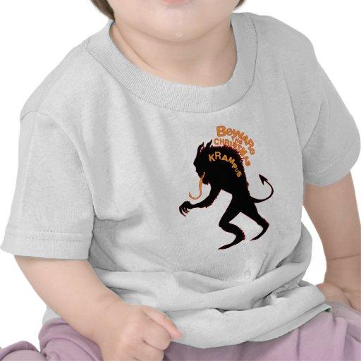 Beware the Christmas Krampus T-shirts