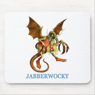 BEWARE THE DREADED JABBERWOCKY MOUSE PAD