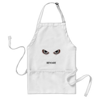 BEWARE THE EVIL EYES ADULT APRON