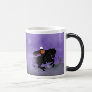Beware the Halloween Horseman Magic Mug