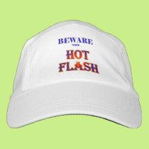 BEWARE the HOT FLASH! Headsweats Hat