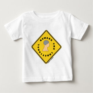 Beware The Irrational Yellow Diamond Warning Sign Tee Shirt