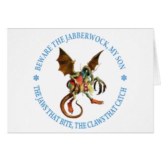 BEWARE THE JABBERWOCK, MY SON CARDS