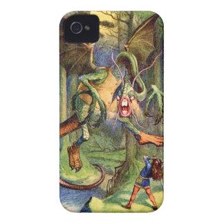 Beware the Jabberwock my son iPhone 4 Covers
