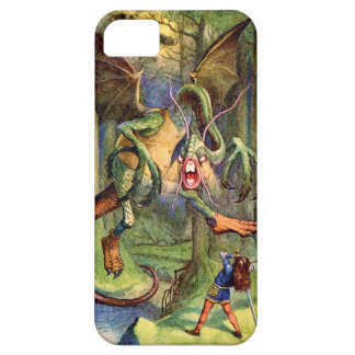 Beware the Jabberwock my son iPhone 5 Cover