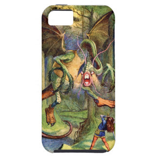 Beware the Jabberwock my son iPhone 5 Cases