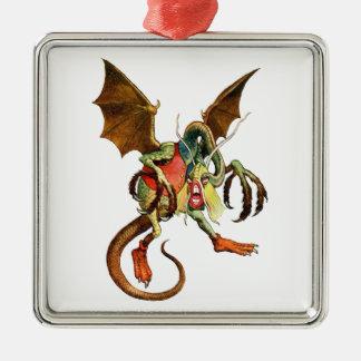 Beware the Jabberwock, my son! from Wonderland Ornament