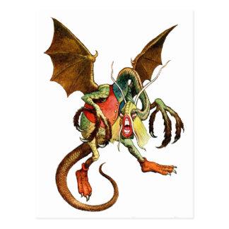 Beware the Jabberwock, my son! from Wonderland Post Card