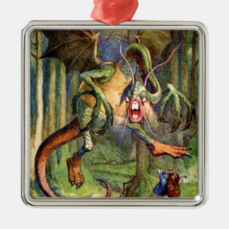Beware the Jabberwock, my son! Ornaments