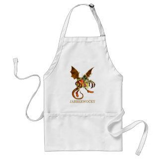 BEWARE THE JABBERWOCK MY SON THE JAWS THAT BITE APRONS