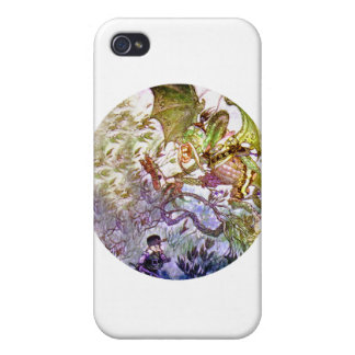 Beware the Jabberwock My Son The Jaws That Bite iPhone 4 Case