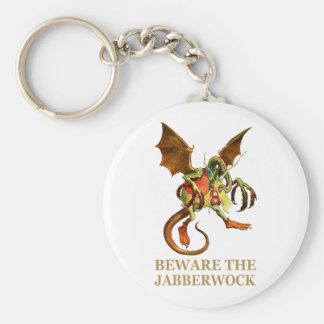 BEWARE THE JABBERWOCK, MY SON, THE JAWS THAT BITE KEYCHAIN