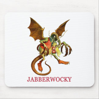 BEWARE THE JABBERWOCK MY SON, THE JAWS THAT BITE MOUSE PAD