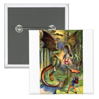 Beware the Jabberwock, my son! The jaws that bite, Pinback Button