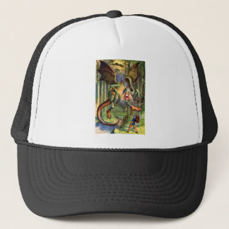 Beware the Jabberwock, my son! Trucker Hat