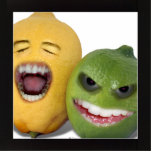 Beware the Lemon With Zester Photo Cut Outs