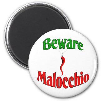 Beware The Malocchio (Evil Eye) Magnet