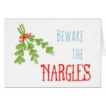 Beware the Nargles Greetings Card