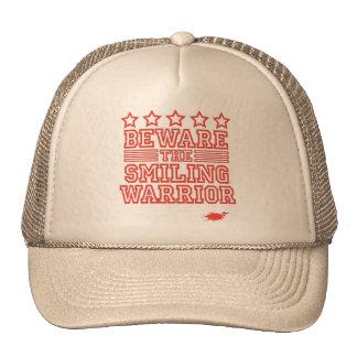 Beware the Smiling Warrior Trucker Hat