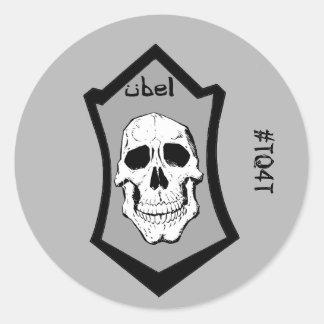 Beware the Ubel - #TQ4T Classic Round Sticker
