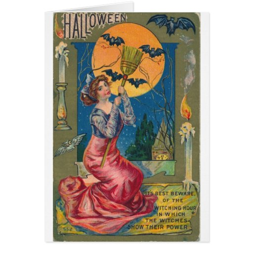 Beware the Witching Hour! Greeting Card